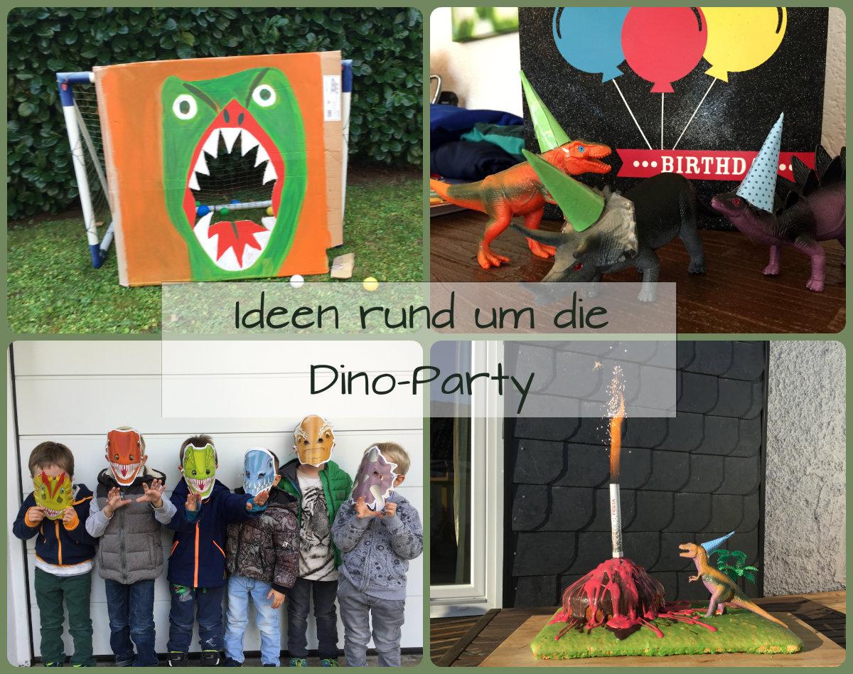 Dinoparty Zum Dinosaurier Kindergeburtstag bei Spiele Zum Kindergeburtstag Für 4 Jährige