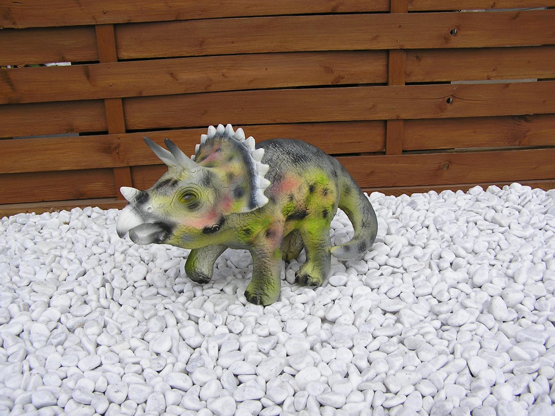 Dinosaurier Dreihorn Dekofigur Aufstellfigur Deko bei Dreihorn Dinosaurier