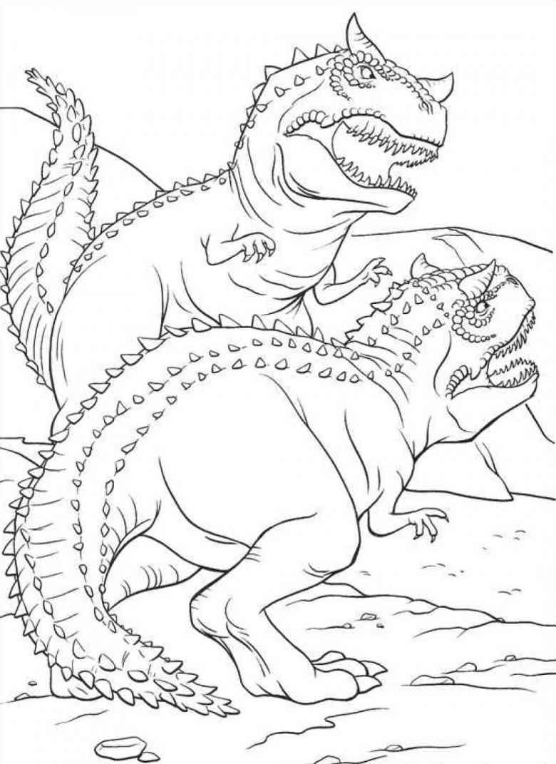 Dinosaurier Malvorlagen Kostenlos - Malvorlagen Für Kinder bei Mandala Dino