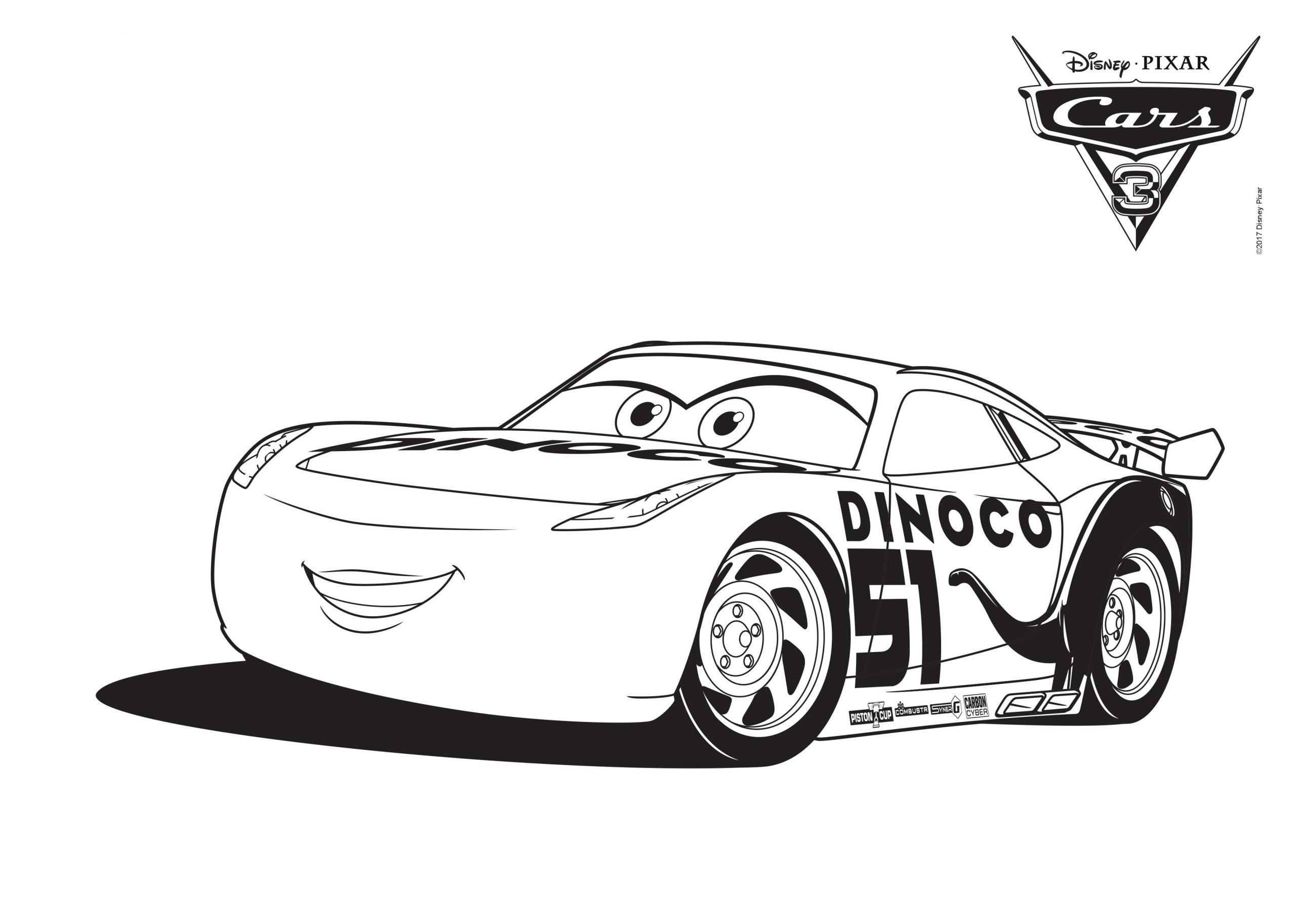 Disney Cars Malvorlagen | Mytoys-Blog über Lightning Mcqueen Malvorlage