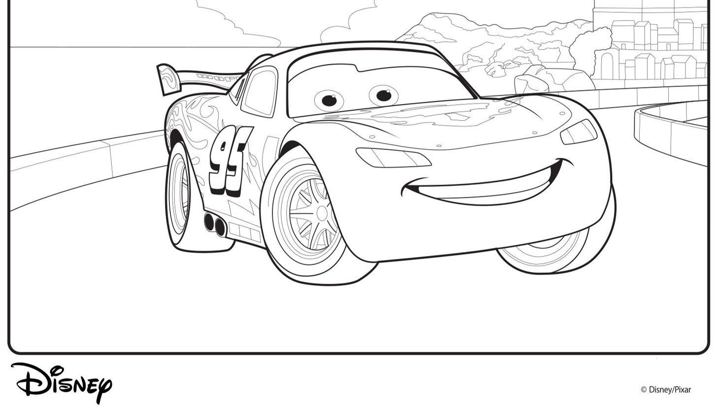 Disney Cars Malvorlagen | Mytoys-Blog verwandt mit Lightning Mcqueen Malvorlage