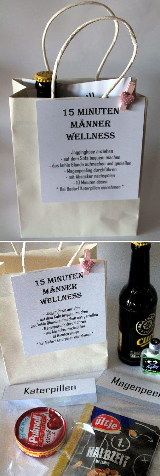 Diy 15 Minuten Männer Wellness - Die Perfekte Geschenkidee innen Witzige Weihnachtsgeschenke Für Männer