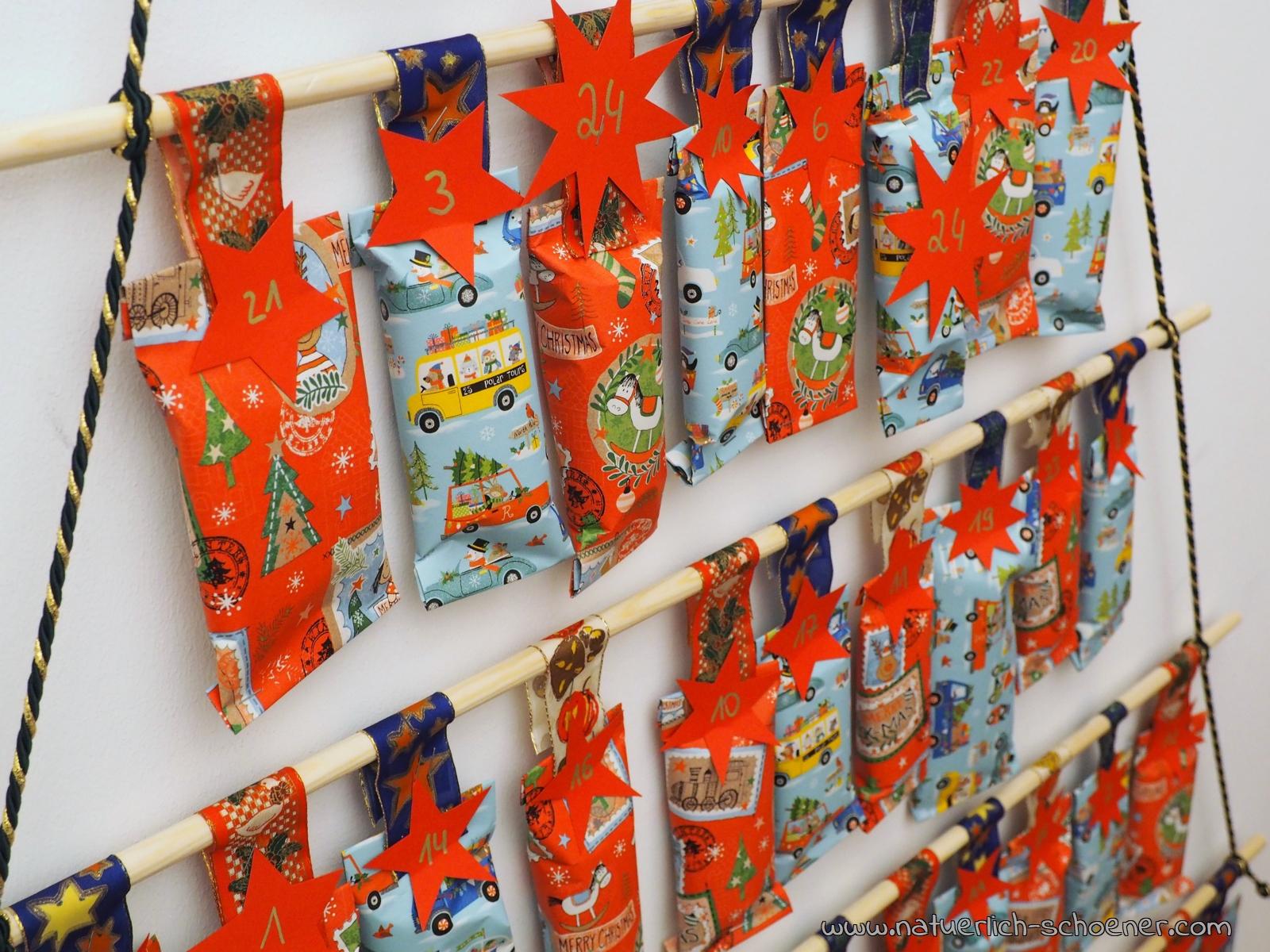 Diy Adventkalender Für Kinder – Ganz Einfach Und Schnell ganzes Einfacher Adventskalender Basteln