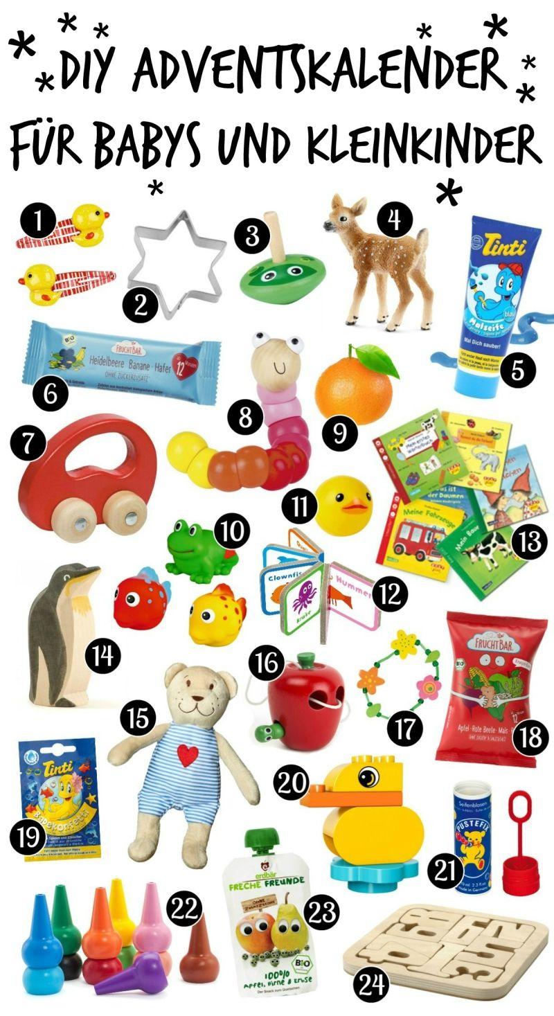 Diy Adventskalender Für Babys Und Kleinkinder Selber Machen bei Adventskalender Selber Machen Kinder