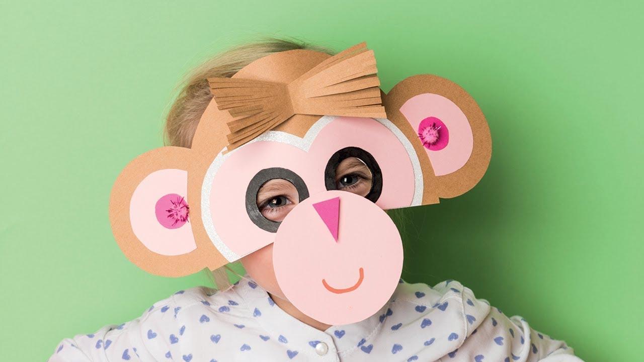 Diy Anleitung: Masken Basteln Für Karneval /fasching | Basteln Mit Kindern ganzes Kindermasken Basteln