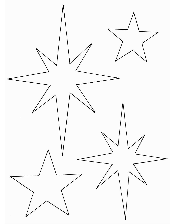 Diy-Anleitung: Windlichter Mit Sternen | Sterne Basteln über Stern Von Bethlehem Basteln