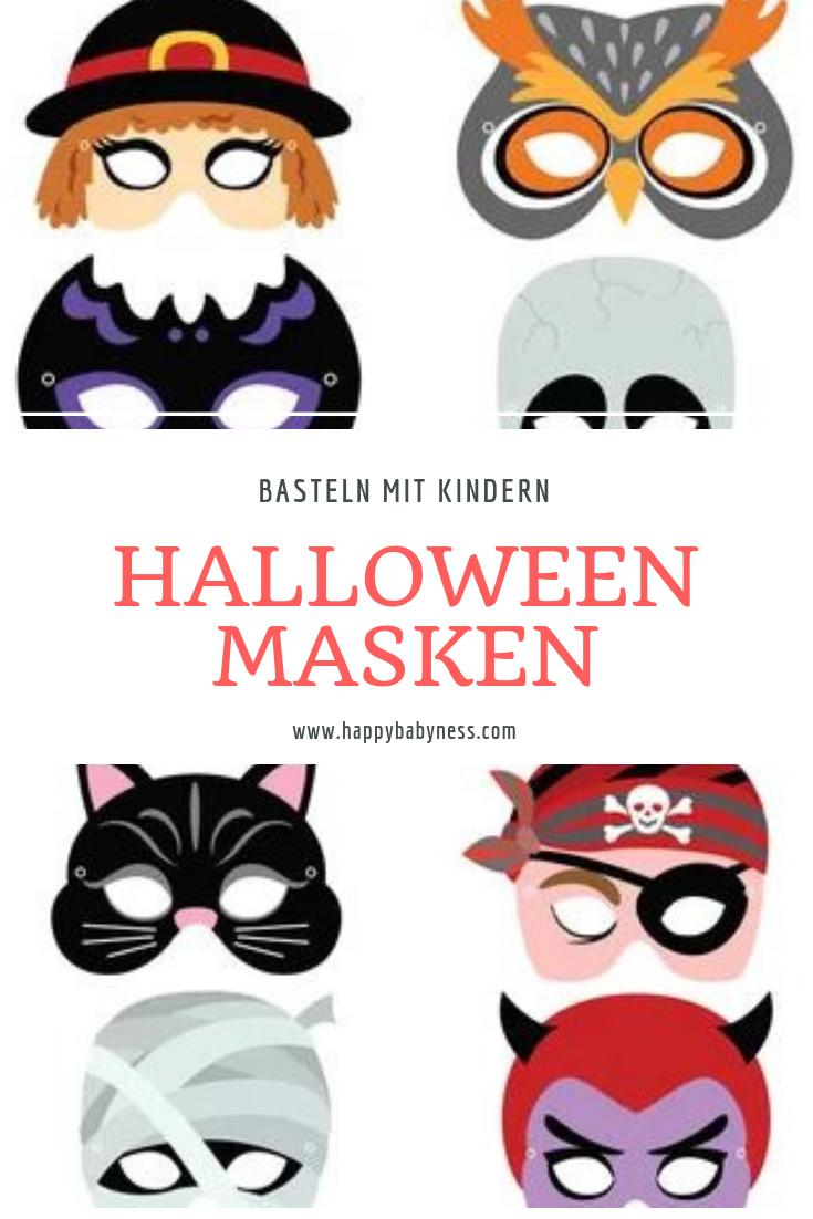 Diy Anleitungen Halloween - Happybabyness (Mit Bildern für Faschingsmasken Selber Basteln