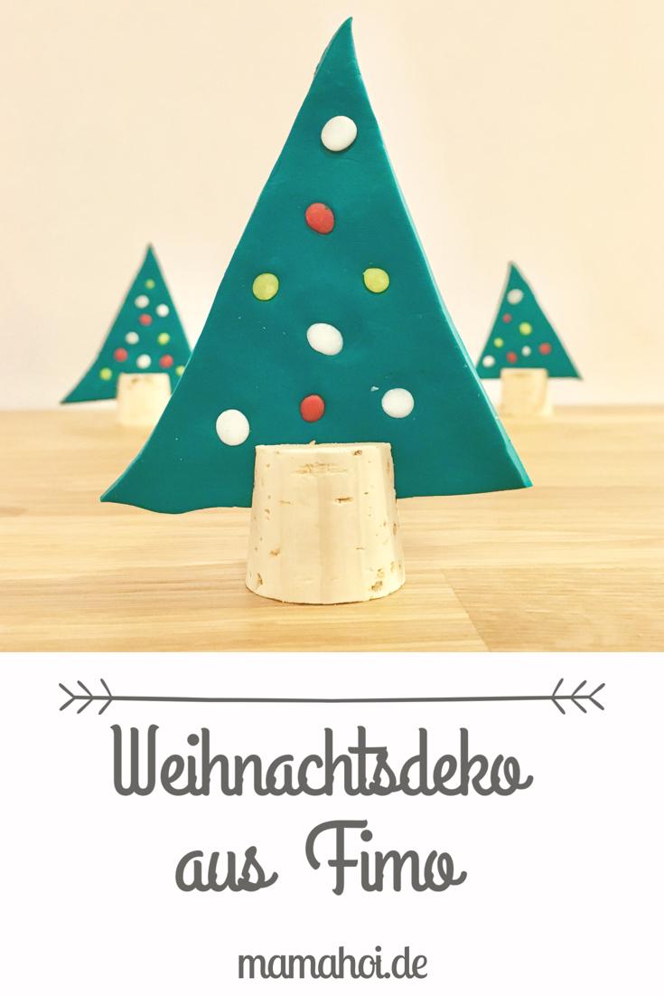 Diy Dezember – Weihnachtliche Deko Mit Fimo Basteln verwandt mit Weihnachtliche Bastelideen Für Kinder