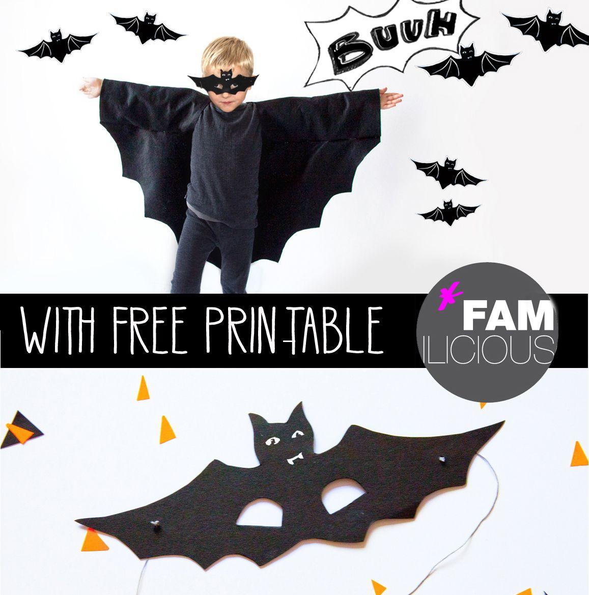Diy // Halloweenkostüm Fledermaus   Halloween Kostüme Kinder in Fledermaus Kostüm Kind Selber Machen