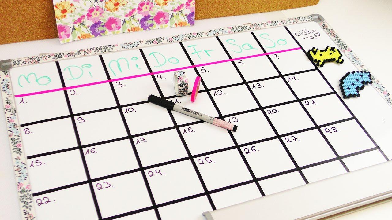Diy Inspiration Challenge #43 Kalender Selber Machen   Evas Challenge    Tutorial - Do It Yourself in Kalender Zum Selber Basteln