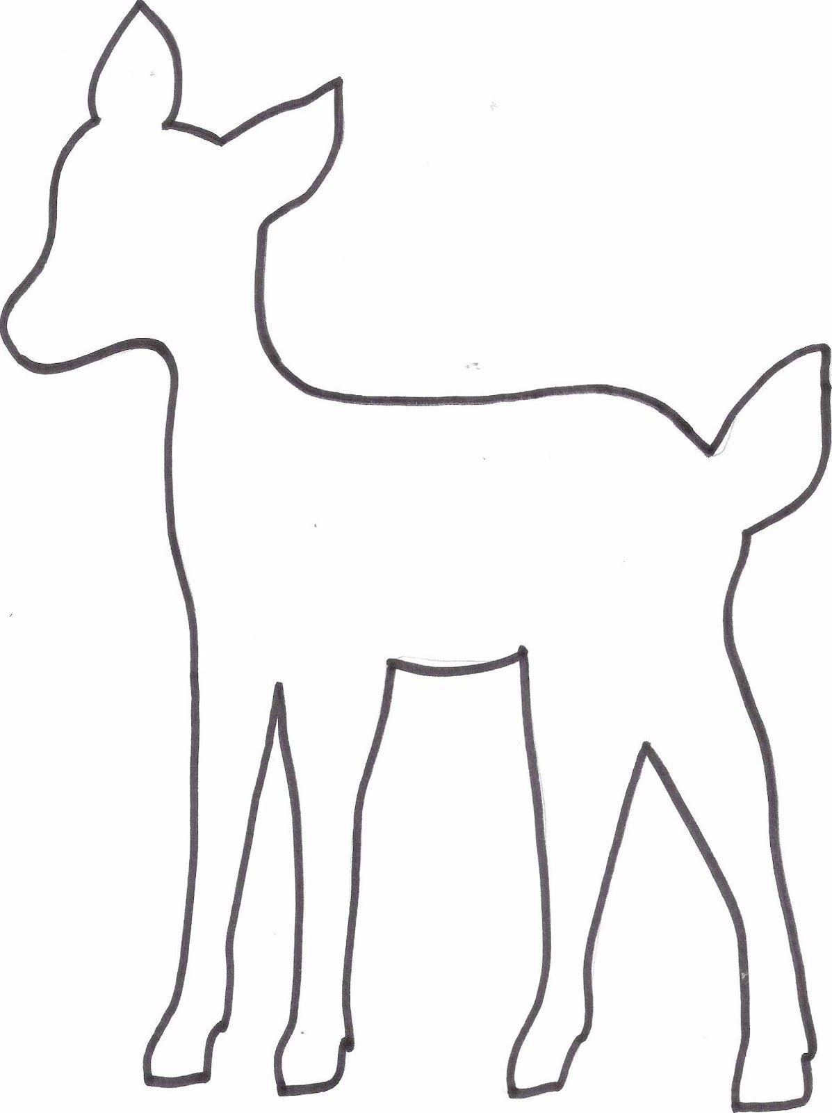 Diy Reh Kissen + Freebie Vorlage   Tiervorlagen, Kissen in Malvorlage Reh