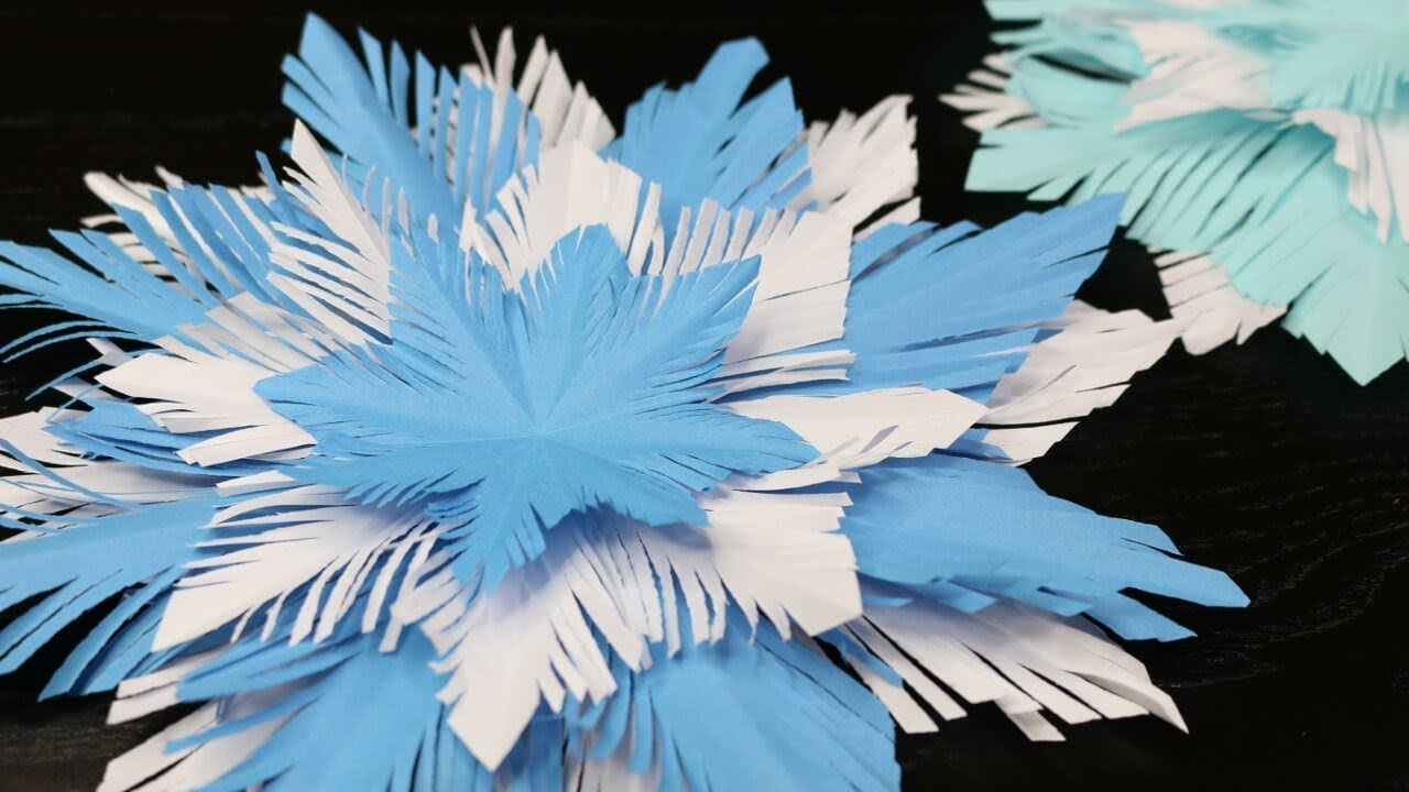 Diy | Schneeflocke Aus Papier Basteln | Basteln Mit Kindern |  Sweetlifesunshine bestimmt für Schneeflocken Aus Papier Schneiden