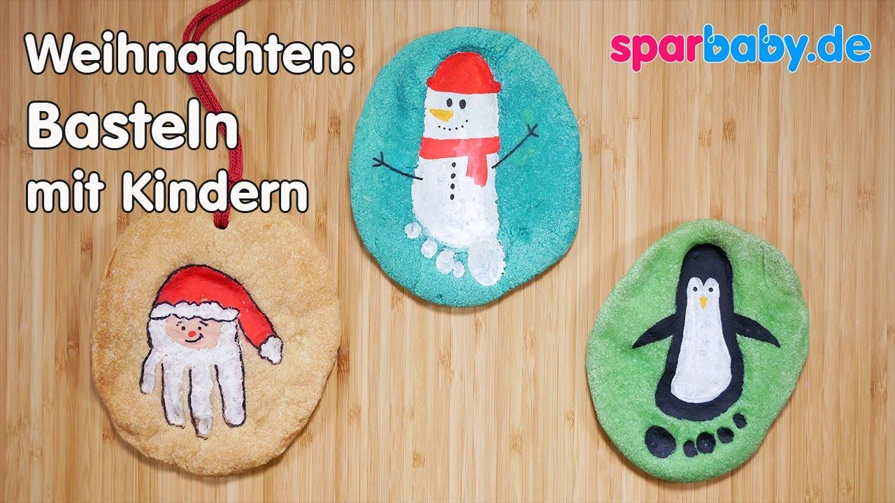 Diy Weihnachtsgeschenke Basteln Mit Kindern - Salzteigbilder bestimmt für Weihnachts Bastelideen Für Kinder