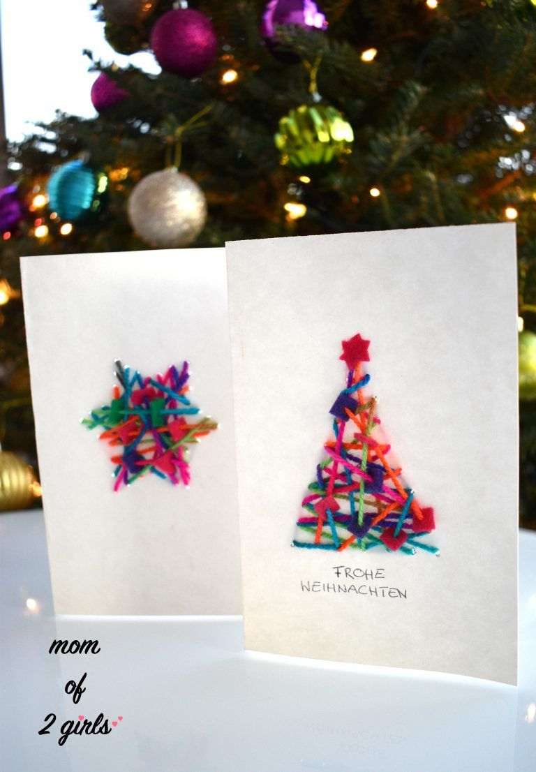 Diy Weihnachtskarten Basteln   Basteln Weihnachten für Einfache Bastelideen Für Weihnachten
