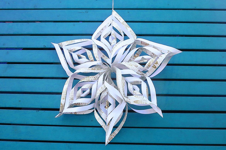 Do It Yourself: Filigrane Weihnachtssterne Basteln innen Weihnachts Sterne Basteln
