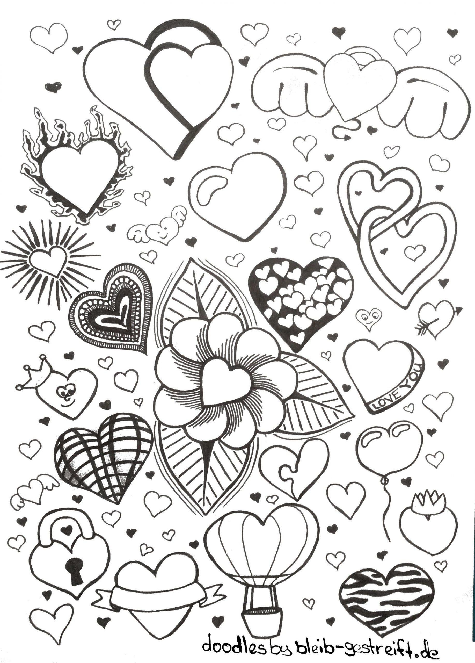 Doodles Zeichnen - Viele Vorlagen Für Deine Inspiration Und in Zeichnen Bilder Vorlagen