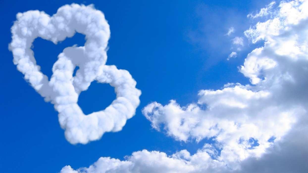 Download Bilder Für Das Handy: Landschaft, Sky, Herzen für Herz Bilder Kostenlos Herunterladen