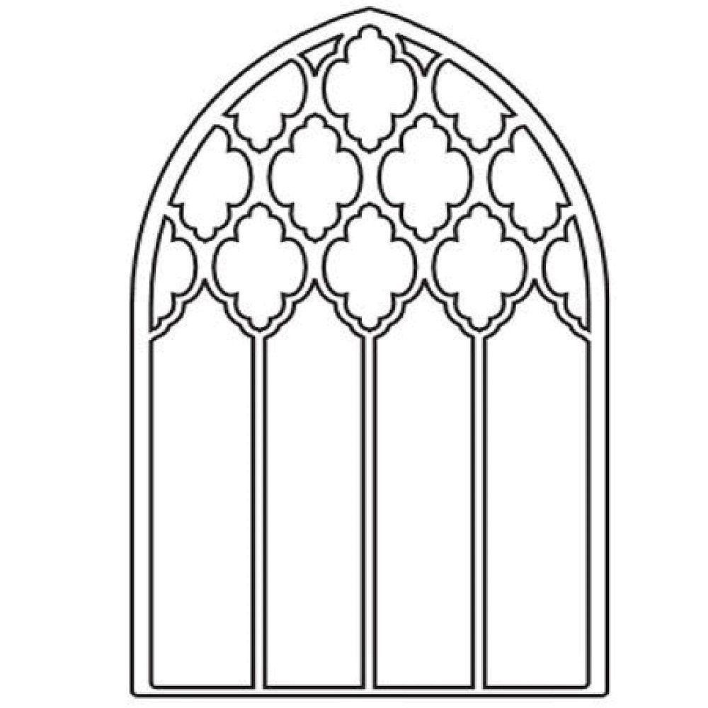 Download Box Coloring Pages | Free Printables | Pinterest In verwandt mit Kirchenfenster Malvorlage