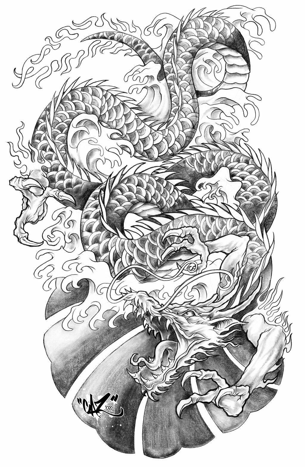 Drachen Tattoo Vorlagen für Elfen Tattoos Vorlagen Kostenlos