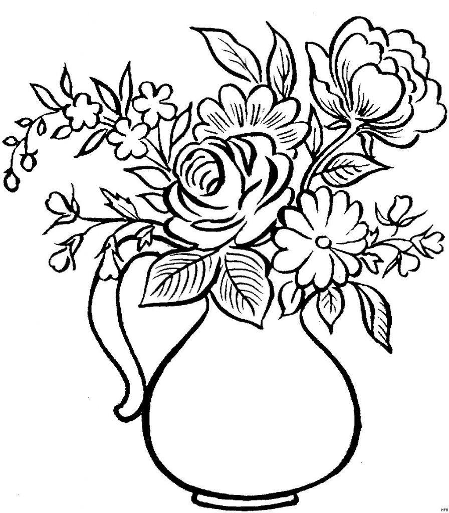 Druckbare Malvorlage Blumen Vorlagen Zum Ausdrucken verwandt mit Blumen Zum Malen Vorlagen