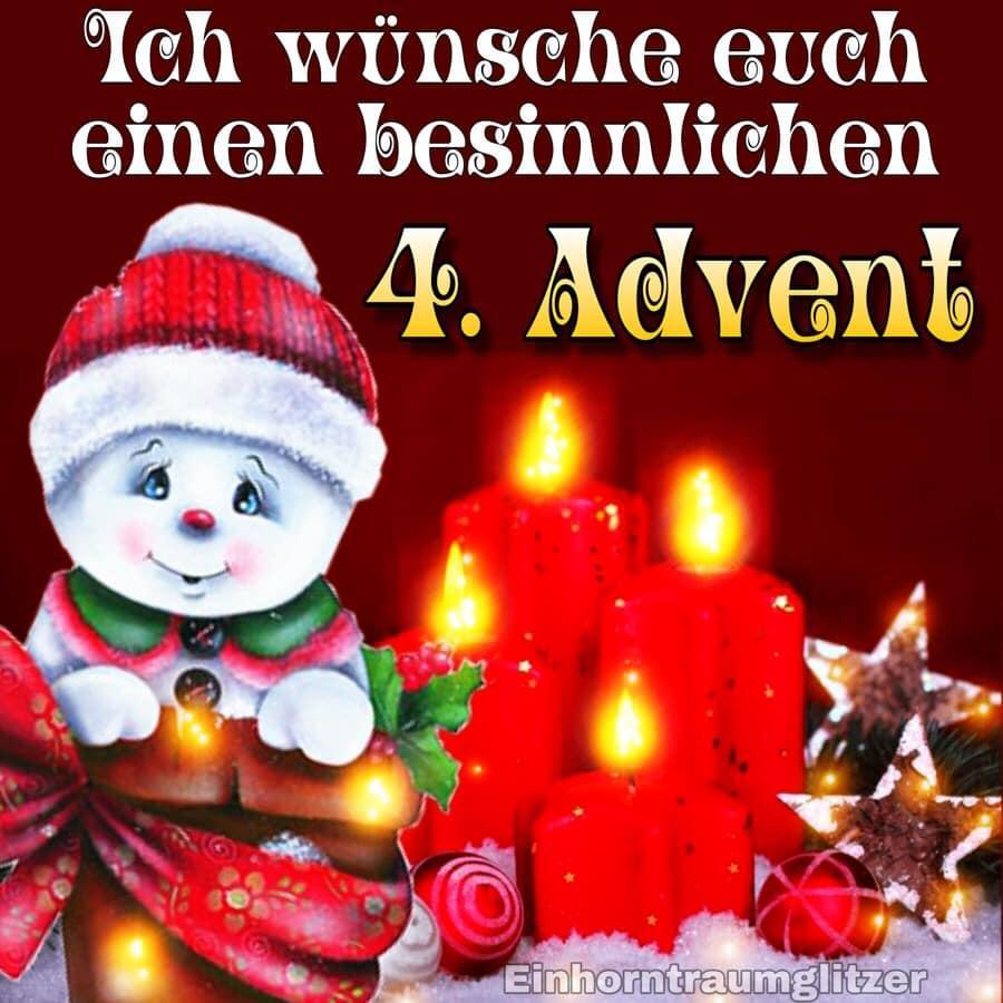 ᐅ 4. Advent Bilder - 4. Advent Gb Pics - Gbpicsonline für Lustige Adventsbilder Kostenlos