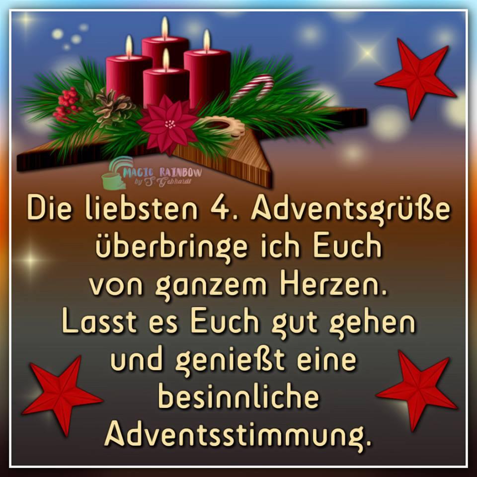 ᐅ 4. Advent Bilder - 4. Advent Gb Pics - Gbpicsonline mit Lustige Adventsbilder Kostenlos