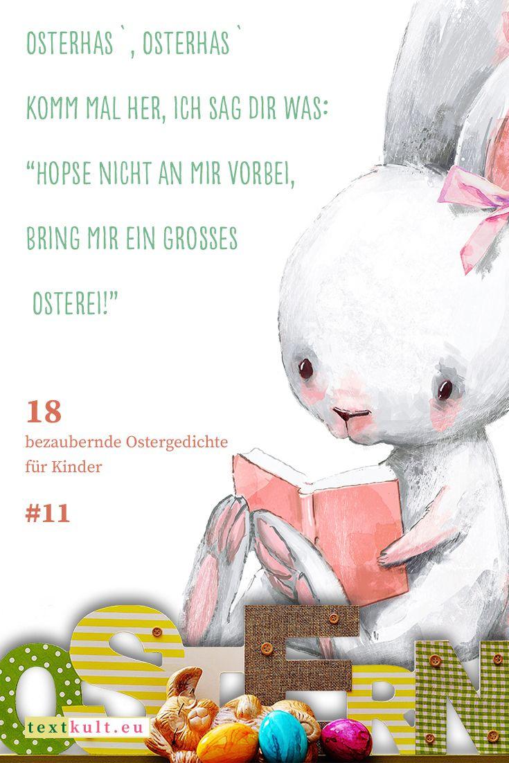 ᐅ Dies Sind Die Schönsten 18 Ostergedichte Für Kinder (Mit über Ostergedichte Für Kindergartenkinder