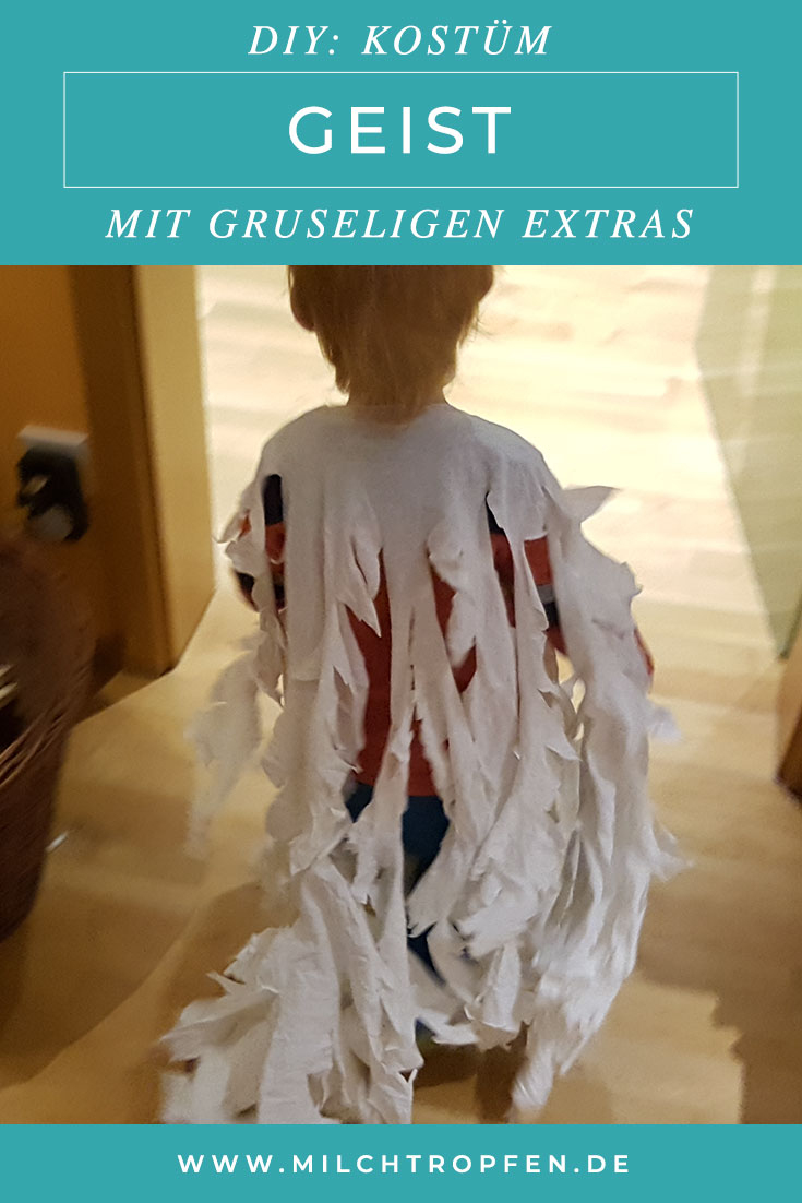 ᐅ Halloween Kostüm Geist Für Kinder Selber Machen innen Halloween Kostüme Selber Machen Kinder