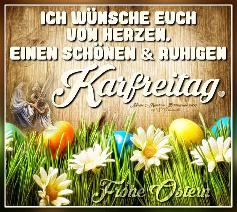 ᐅ Karfreitag Bilder - Karfreitag Gb Pics - Gbpicsonline bei Lustige Blumenbilder