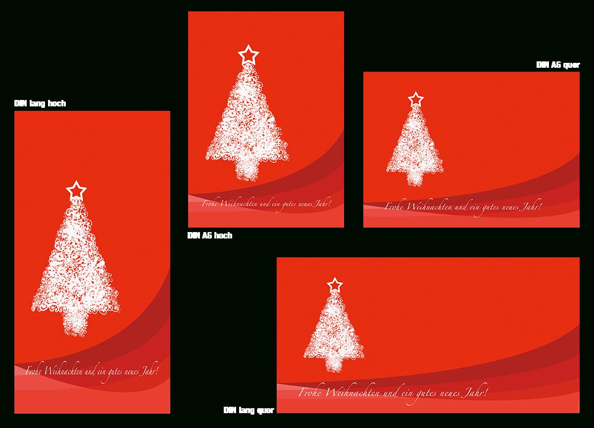 ᐅ Kostenlose Layoutvorlagen Zum Download   Postkarte ganzes Weihnachtskarte Vorlage