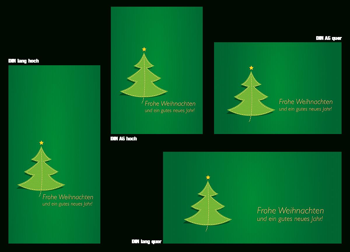 ᐅ Kostenlose Layoutvorlagen Zum Download | Postkarte ganzes Weihnachtskarten Vorlage