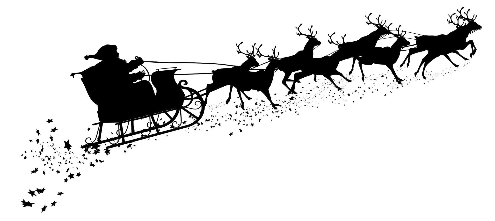 ▷ Der Liebe Gute Weihnachtsmann | Kiel | Schleswig-Holstein verwandt mit Weihnachtsmann Rentierschlitten