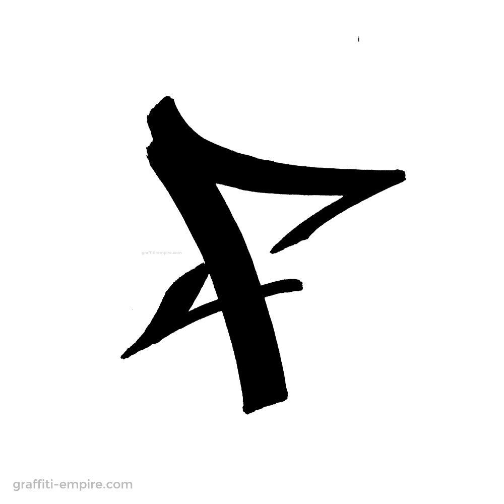 ▷ Graffiti Letter F (Mit Bildern) | Graffiti, Zeichnungen innen Graffiti Buchstabe F