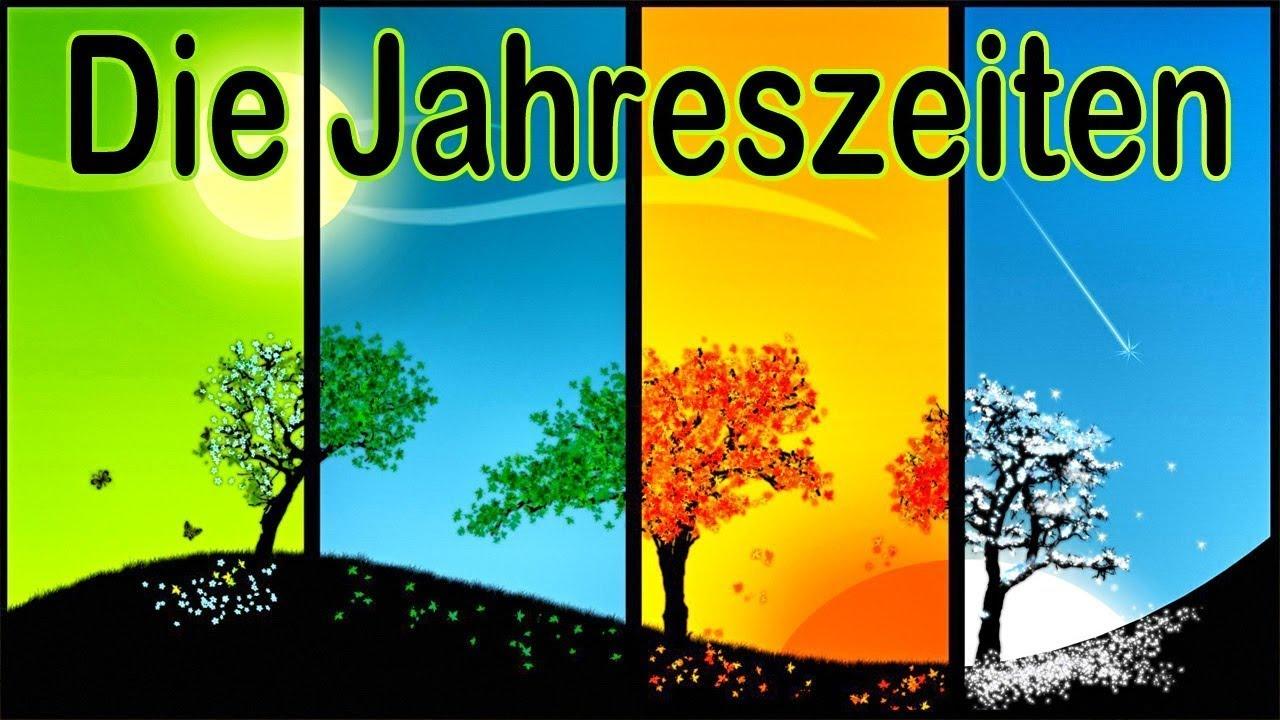 ★ Die Jahreszeiten ★ Lernen -- Schule -- Vorschule -- Kindergarten mit Jahreszeiten Bilder Für Kindergarten