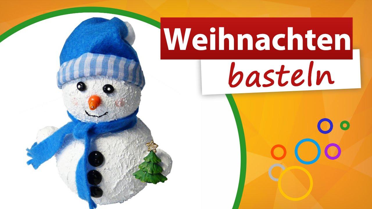 ★ Weihnachten Basteln Vorlagen ★ Schneemann Selber Machen - Trendmarkt24 mit Weihnachten Basteln Vorlagen Kostenlos