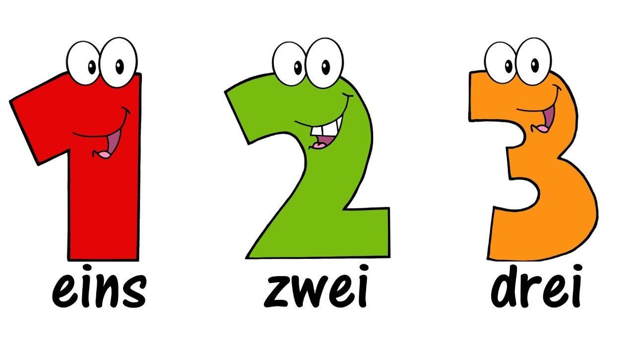 ♫ German Numbers Song 1-20 ♫ Zählen Von 1 Bis 20 bestimmt für Zahlen Französisch 1 20