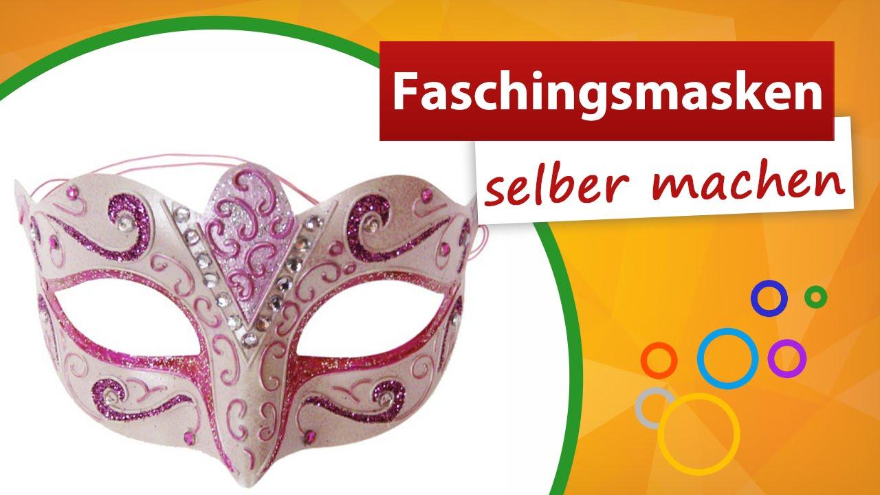 ✂ Faschingsmasken Selber Machen ✂ Trendmarkt24 - Bastelidee in Faschingsmasken Selber Basteln