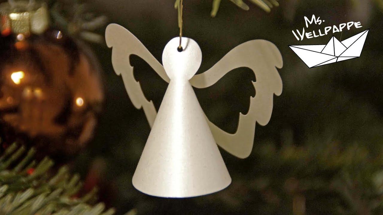 Easy Paper Angels bei Engel Basteln Vorlagen