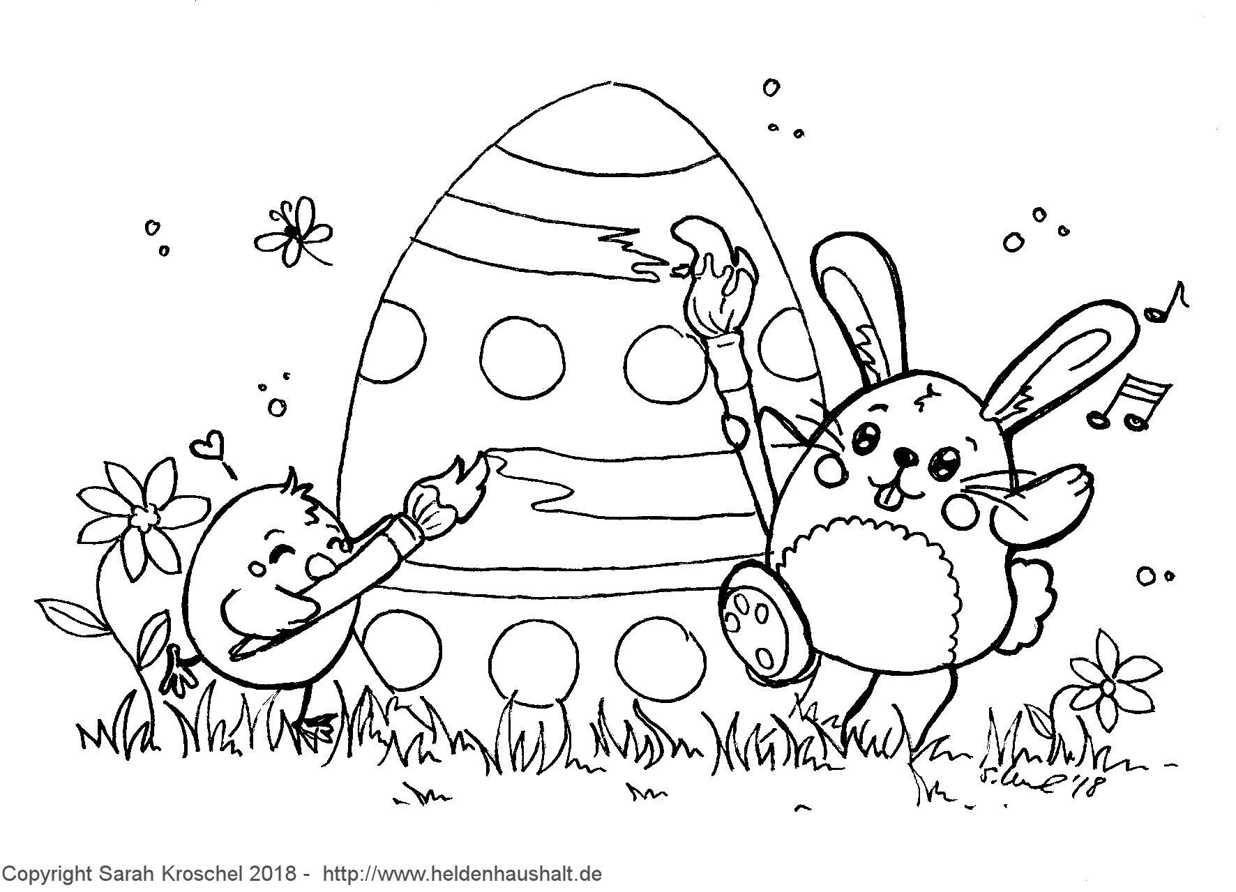 Ei Feel Good! - Wir Wünschen Frohe Ostern! #ausmalbild mit Oster Ausmalbilder