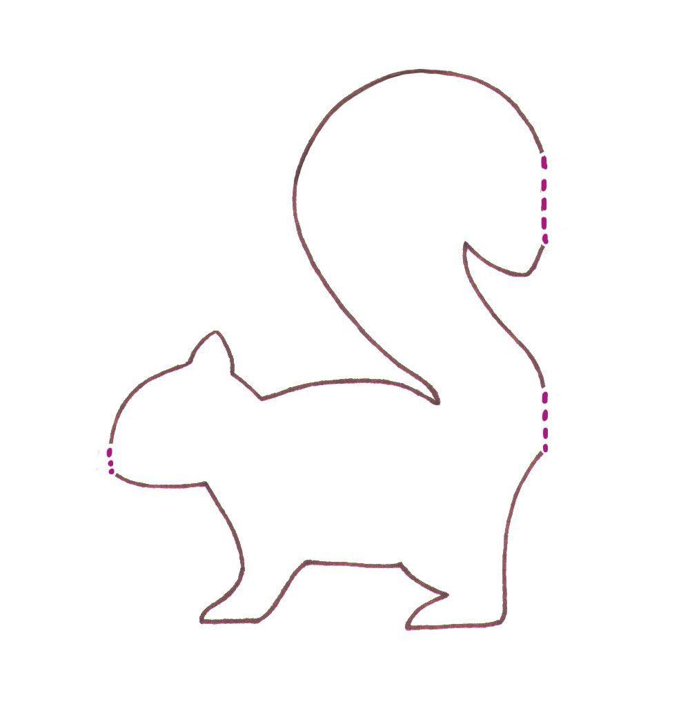 Eichhörnchen Basteln: Herbstdeko Mit Kindern Im bestimmt für Eichhörnchen Bastelvorlage