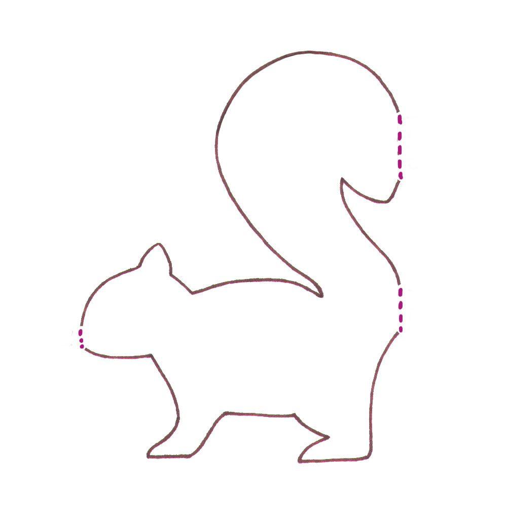 Eichhörnchen Basteln: Zaubern Sie Mit Kindern Niedliche bei Bastelvorlage Eichhörnchen