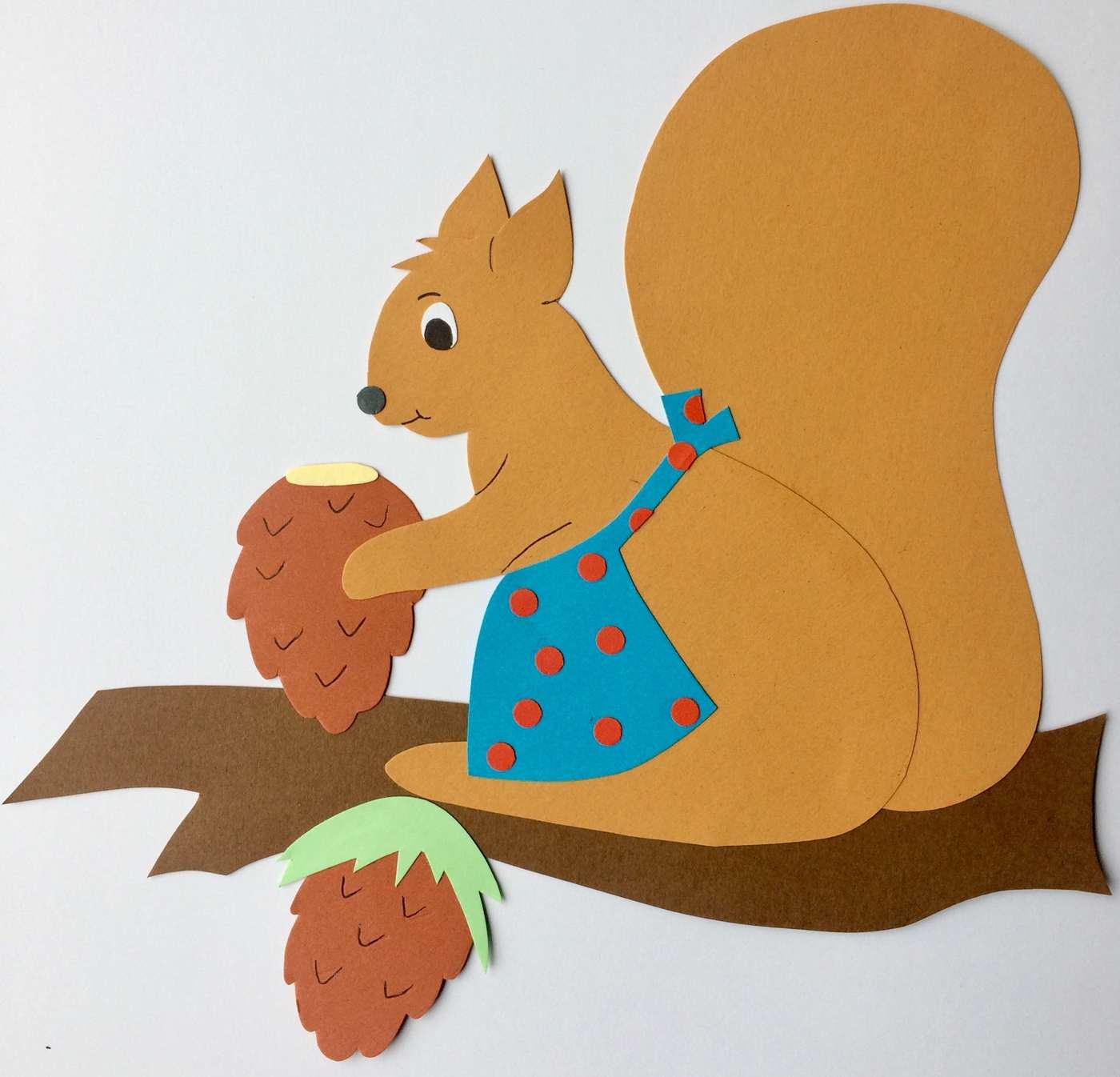 Eichhörnchen Basteln: Zaubern Sie Mit Kindern Niedliche mit Eichhörnchen Bastelvorlage