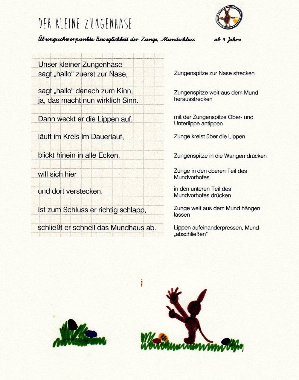 Ein Ostergedicht Für Die Zunge - Kitakram.de in Ostergedichte Für Kindergartenkinder