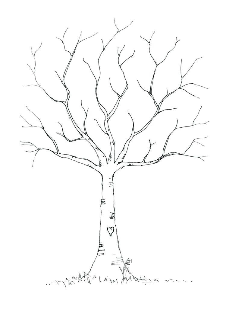 Eine Fensterdeko Mit Kreidemarker Erfolgreich Selber Machen innen Bastelvorlage Baum