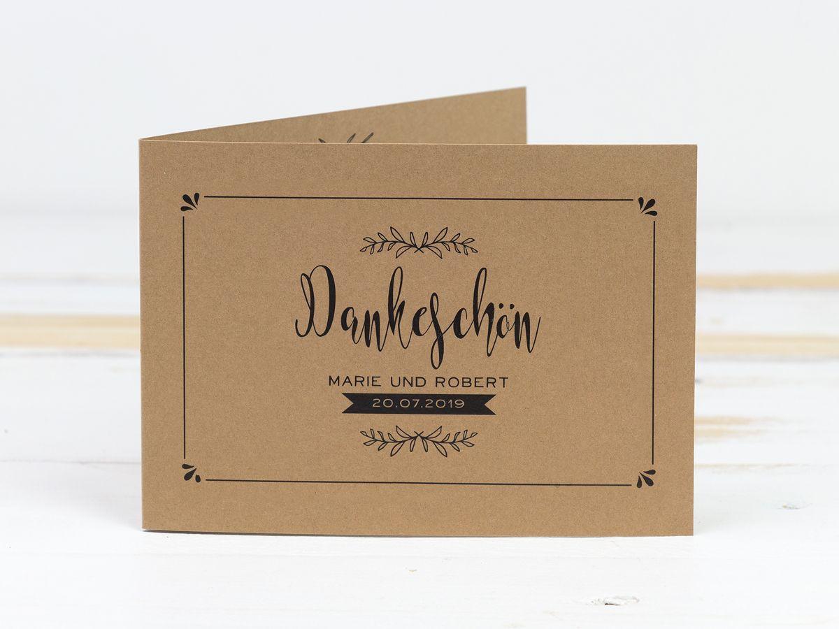 Einfach Mal Danke Sagen! #dankeskarten #kraftpapier mit Dankes Karten