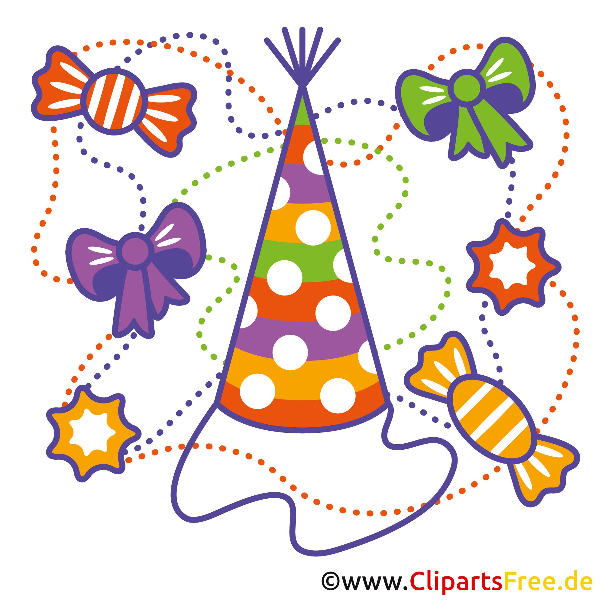 Einladungskarten Runder Geburtstag Kostenlos mit Free Clipart Geburtstag