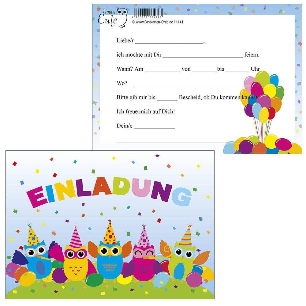 Einladungskarten Zum Geburtstag Schreiben (Mit Bildern in Geburtstagskarten Kindergeburtstag Kostenlos