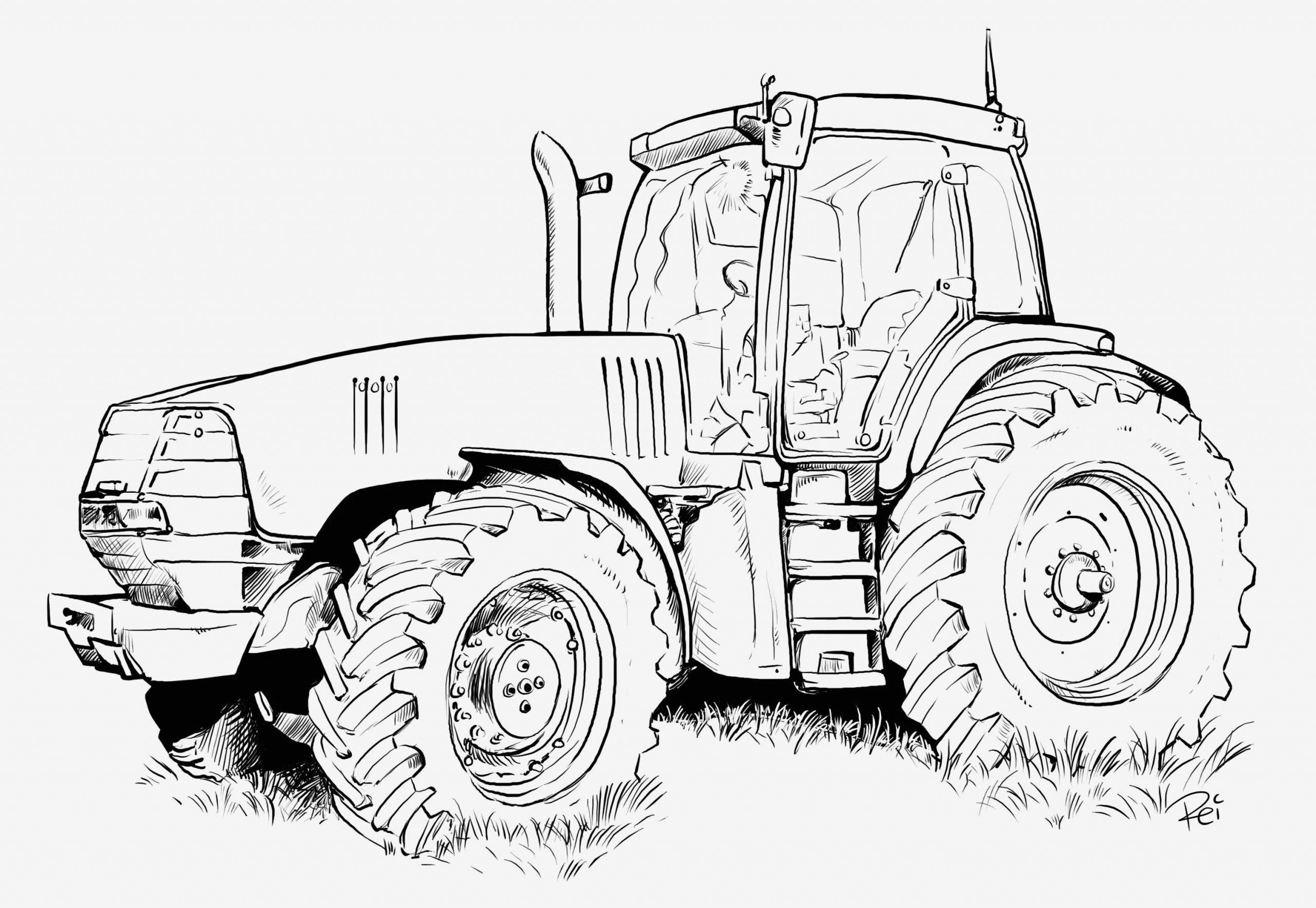 Einzigartig Ausmalbild Krankenwagen | Ausmalbilder Traktor ganzes Krankenwagen Ausmalbild