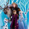 Eiskönigin Anna Elsa Olaf Frozen 2 Duschtuch Badetuch Handtuch 70 X 140Cm mit Anna Und Elsa Bilder