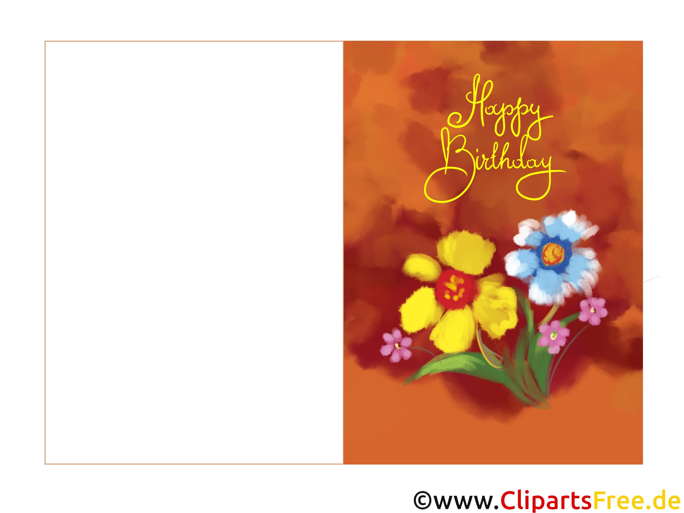 Elektronische Geburtstagskarte Kostenlos Zum Runterladen Und bestimmt für Kostenlose Geburtstagskarten